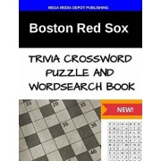 Boston Red Sox Trivia Crossword Puzzle and Word Search Book/Mega Media Depot