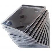 Pearl CD Jewel Boxen im 50er-Set, schwarzes Tray