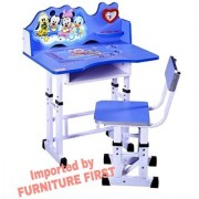 FURNITURE FIRST - MICKEY MOUSE Graphics Kids Study Table Chair Set for Kids Age 3-10 Years Imported By Furniture First