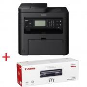 Canon i-SENSYS MF237w Лазерно Многофункционално Устройство