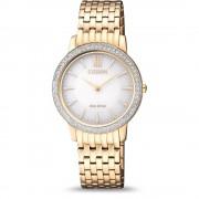 Ceas dama Citizen EX1483-84A Eco-drive Sapphire and Swarovski Crystals
