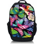 """Laptop rugzak 17,3"""" kleurrijke vlinders - Sleevy"""