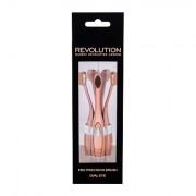 Makeup Revolution London Brushes Precision Pro Brush Oval Eye pennello cosmetico per ombretti 1 pz donna