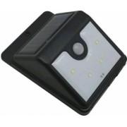 Reflector LED cu panou solar cu senzor de miscare Strend Pro Solar Panel 4 leduri IP44
