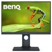 """BenQ Sw240 Monitor Pc 24"""" 250 Cd/m² Hdmi Colore Nero"""