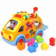 Camioneta cu forme, sunete si lumini - Jucarie interactiva - Hola Toys