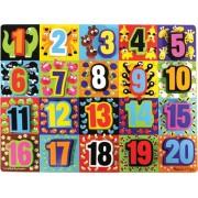 Melissa & Doug 3832 Jumbo Numbers Wooden Chunky Puzzle