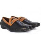 Alberto Calza Leather Moccasion, Driving Shoes, Partywear Shoes Loafers For Men(Black)