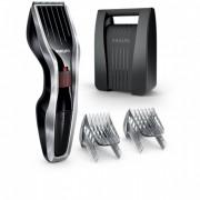 Машинка за подстригване Philips series 5000, Ножчета от неръждаема стомана, 24 настройки за дължина, 75 мин. безжична работа/8 ч. зареждане, черна