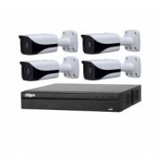Sistem supraveghere video profesional 4 camere IP Rovision 5MP cu IR 80m cu NVR 4 canale Dahua - 201903000193