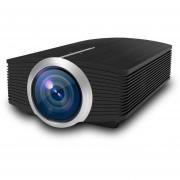 Yg510 1200 Lux 800 * 480 Proyector LED HD Home Theater, Soporte HDMI Y VGA Y AV Y TF Y USB