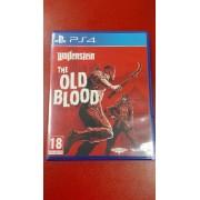 Wolfenstein The old blood pro PS4 použitá