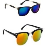 SP Wayfarer Sunglasses(Yellow, Orange, Blue)