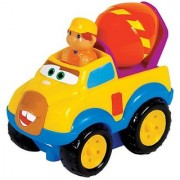 Small World Toys Preschool - Press 'N' Go Cement Mixer
