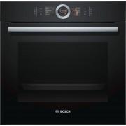 Bosch Serie 8 HBG6764B6B Single Built In Electric Oven - Black