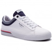 Сникърси PEPE JEANS - North Court PMS30530 White 800