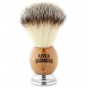 River Grooming Brauner Rasierpinsel