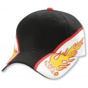 Legend Flaming Dice Cap Black/White/Red 4312