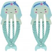 Lucardi Diversen - Haarclipjes voor kids zeemeermin
