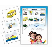 Fiches de vocabulaire - Transport - Transportation and Vehicle Flashcards in French for Kids, Toddlers and Children