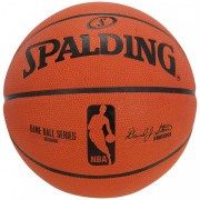 Bola Basquete Spalding Game Ball Outdoor Borracha - Tam. 7