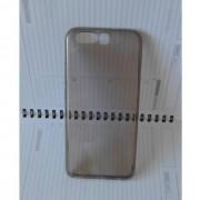 Калъф за Huawei P10 силиконов гръб прозрачен smoked