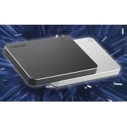 Toshiba Canvio Premium 3 TB Hard Drive - External - Silver