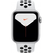 Apple Mx3r2ty/a Watch Nike Series 5 - Smartwatch Cardio Orologio Fitness Gps 40 Mm Display Oled Watchos 6 Colore Bianco - Mx3r2ty/a