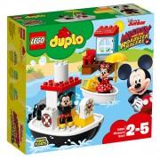 Set de constructie LEGO Duplo Barca lui Mickey