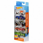Set 5 masini, Hot Wheels Hot Trucks
