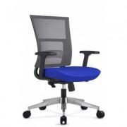 Scaun de birou ergonomic albastru Next