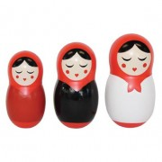 Babushka Dinner Dolls - Salt & Pepper and Toothpick dispenser