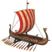 Design Toscano Drekar The Viking Longship Estatua de coleccionista, 27.94 cm, Barco Vikingo, Color Completo, 33.02 cm, 1