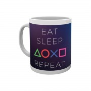 PlayStation, Mugg - Eat Sleep Repeat