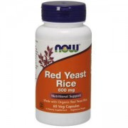 Дрожди от червен ориз - Red Yeast Rice 600 мг. - 60 капсули, NOW FOODS, NF3500