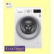 LG F2J5WN4W elöltöltős mosógép , A+++ -10% energiaosztály