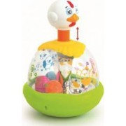 Jucarie interactiva Baby Mix Egg Spinner