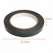Generic 5M Strong Waterproof Adhesive Double Sided Foam Tape Car Trim Plate Width 12Mm