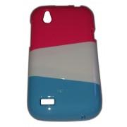 Цветен калъф за HTC T328w Desire V 002