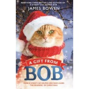 A Gift from Bob: How a Street Cat Helped One Man Learn the Meaning of Christmas, Paperback