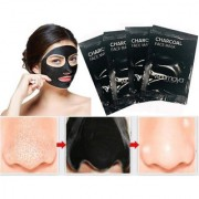 4Pcs Activated Black Charcoal Pore Deep Cleansing Nose Face Blackhead Remover Mask