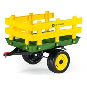 Playmobil Peg Perego John Deere Stakeside Trailer Ride On, Green