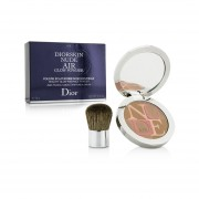 Christian Dior Diorskin Nude Air Healthy Glow Radiance Powder (With Kabuki Brush) - # 004 Warm Light 10g