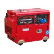 Generator electric AGT 6851 DSEA , putere 5 kVA , insonorizat , bujii incandescente si priza de 32 A