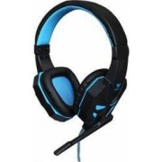 Casti Gaming Aula Prime Negru-Albastru