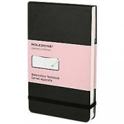 Moleskine Watercolour Notebook Black 21 x 13 cm Plain 72 Pages 36 Sheets