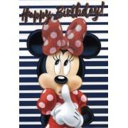 Čestitka za rođendan Minnie Mouse 1/12