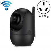 HD Cloud draadloze IP-camera intelligent auto tracking Human Home Security Surveillance netwerk WiFi camera plug type: AU plug (1080P zwart)