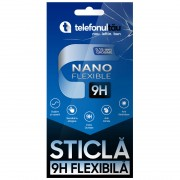 Folie Sticla telefonultau Nano Flexibila 0,15mm, Samsung Galaxy XCover 4S, Black