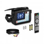 Détecteur de satellite - DVB-S2 - Batterie intégrée - Télécommande